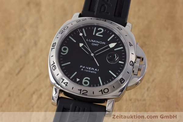 PANERAI LUMINOR GMT STEEL AUTOMATIC KAL. 9040 ETA 2893-2 LP: 6600EUR [161372]