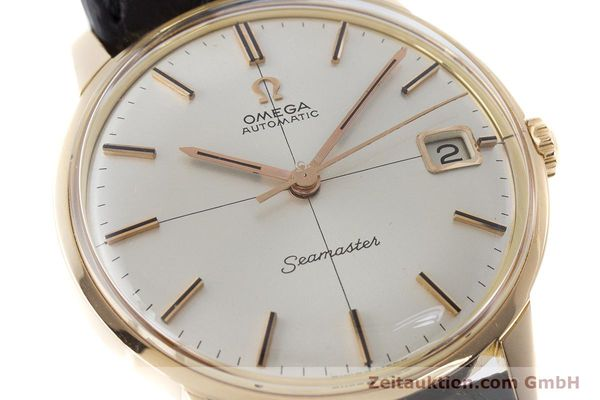 Used luxury watch Omega Seamaster 18 ct gold automatic Kal. 562 Ref. 166001 VINTAGE  | 161373 02