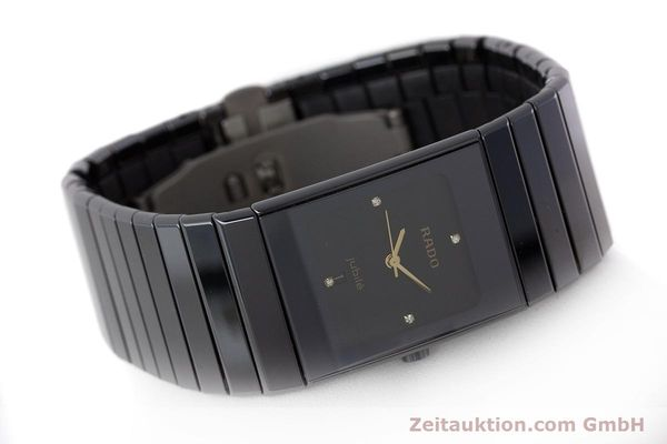 Used luxury watch Rado Diastar Ceramica ceramic / steel quartz Kal. ETA 956.112 Ref. 111.0348.3  | 161374 03