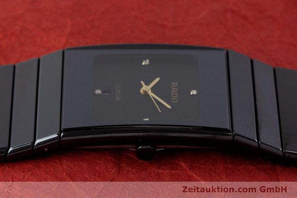 Used luxury watch Rado Diastar Ceramica ceramic / steel quartz Kal. ETA 956.112 Ref. 111.0348.3  | 161374 05