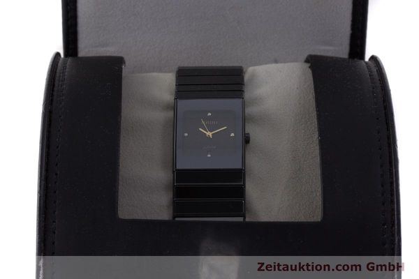 Used luxury watch Rado Diastar Ceramica ceramic / steel quartz Kal. ETA 956.112 Ref. 111.0348.3  | 161374 07
