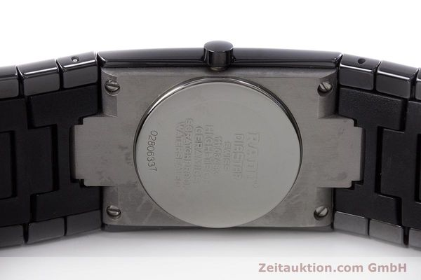 Used luxury watch Rado Diastar Ceramica ceramic / steel quartz Kal. ETA 956.112 Ref. 111.0348.3  | 161374 09