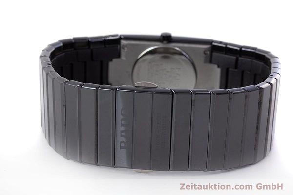 Used luxury watch Rado Diastar Ceramica ceramic / steel quartz Kal. ETA 956.112 Ref. 111.0348.3  | 161374 10