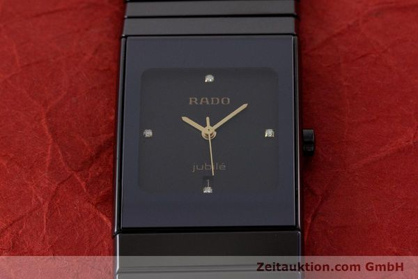 Used luxury watch Rado Diastar Ceramica ceramic / steel quartz Kal. ETA 956.112 Ref. 111.0348.3  | 161374 15