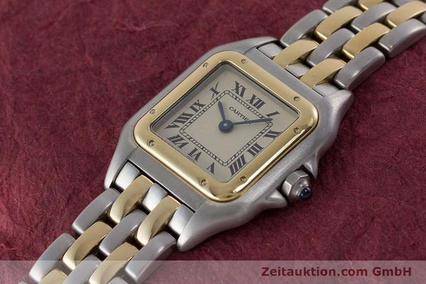 Used luxury watch Cartier Panthere steel / gold quartz Kal. 175  | 161375 01