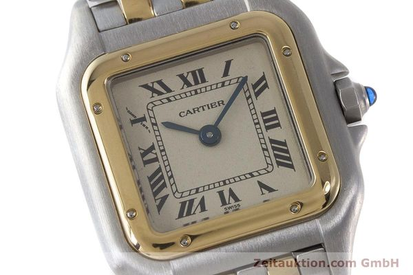 Used luxury watch Cartier Panthere steel / gold quartz Kal. 175  | 161375 02