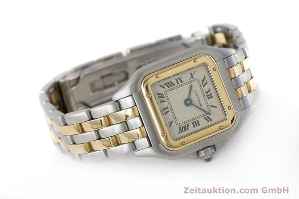 Used luxury watch Cartier Panthere steel / gold quartz Kal. 175  | 161375 03