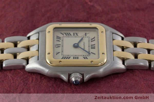 Used luxury watch Cartier Panthere steel / gold quartz Kal. 175  | 161375 05