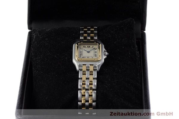 Used luxury watch Cartier Panthere steel / gold quartz Kal. 175  | 161375 07