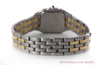 CARTIER PANTHERE STEEL / GOLD QUARTZ KAL. 175 [161375]