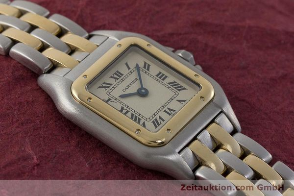 Used luxury watch Cartier Panthere steel / gold quartz Kal. 175  | 161375 13