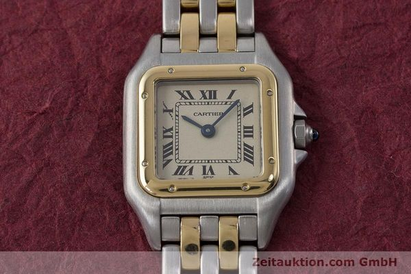 Used luxury watch Cartier Panthere steel / gold quartz Kal. 175  | 161375 14