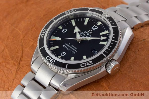 Used luxury watch Omega Seamaster steel automatic Kal. 2500C Ref. 22015000  | 161376 01