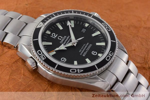 Used luxury watch Omega Seamaster steel automatic Kal. 2500C Ref. 22015000  | 161376 17