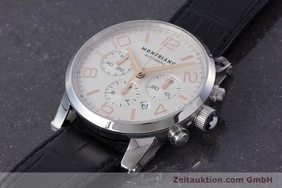 MONTBLANC TIMEWALKER CHRONOGRAPH STEEL AUTOMATIC KAL. 4810502 LP: 4590EUR [161377]