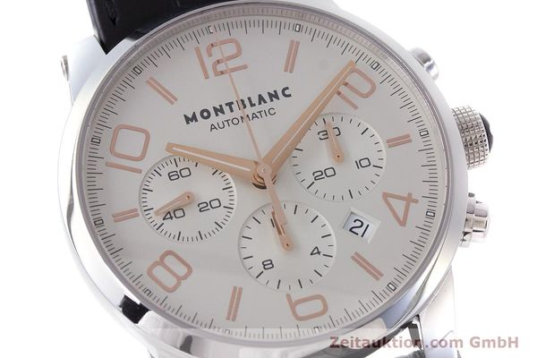Used luxury watch Montblanc Timewalker chronograph steel automatic Kal. 4810502 Ref. 7141  | 161377 02