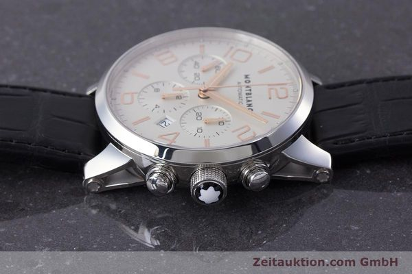 Used luxury watch Montblanc Timewalker chronograph steel automatic Kal. 4810502 Ref. 7141  | 161377 05