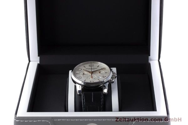 Used luxury watch Montblanc Timewalker chronograph steel automatic Kal. 4810502 Ref. 7141  | 161377 07