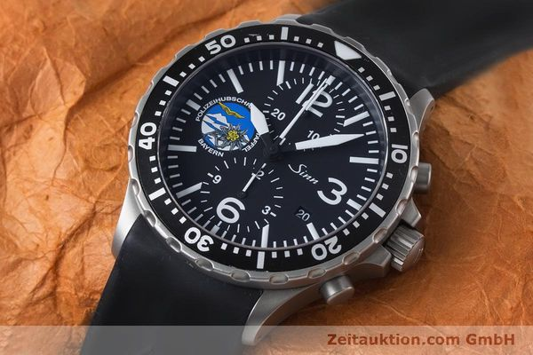 Used luxury watch Sinn 757 chronograph steel automatic Kal. ETA 7750 Ref. 757.1437 LIMITED EDITION | 161378 01
