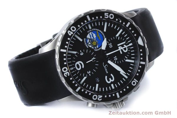 Used luxury watch Sinn 757 chronograph steel automatic Kal. ETA 7750 Ref. 757.1437 LIMITED EDITION | 161378 03