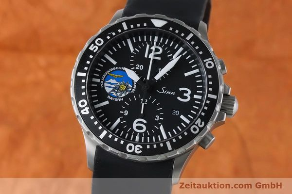 Used luxury watch Sinn 757 chronograph steel automatic Kal. ETA 7750 Ref. 757.1437 LIMITED EDITION | 161378 04