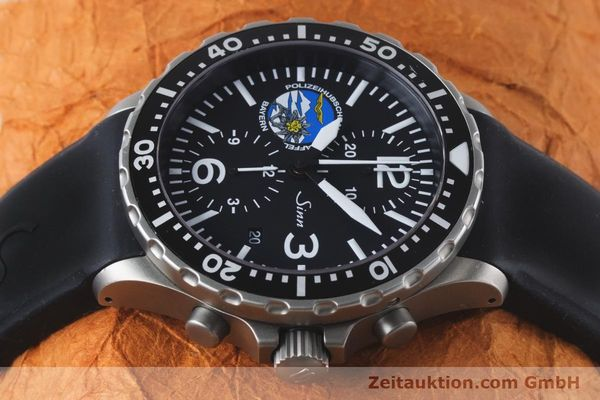 Used luxury watch Sinn 757 chronograph steel automatic Kal. ETA 7750 Ref. 757.1437 LIMITED EDITION | 161378 05