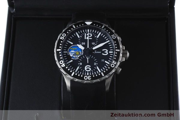 Used luxury watch Sinn 757 chronograph steel automatic Kal. ETA 7750 Ref. 757.1437 LIMITED EDITION | 161378 07