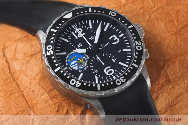 Used luxury watch Sinn 757 chronograph steel automatic Kal. ETA 7750 Ref. 757.1437 LIMITED EDITION | 161378 16
