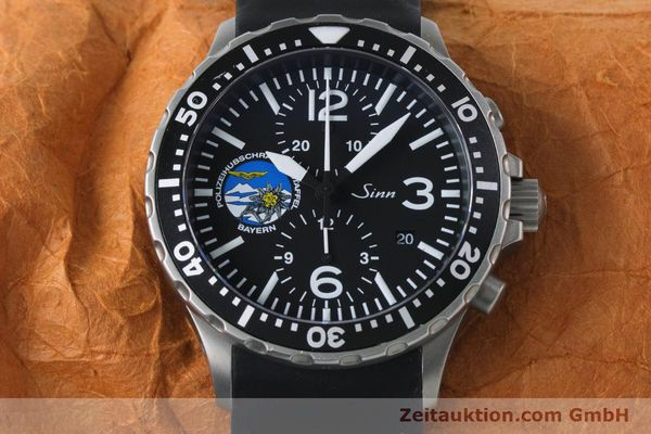 Used luxury watch Sinn 757 chronograph steel automatic Kal. ETA 7750 Ref. 757.1437 LIMITED EDITION | 161378 17