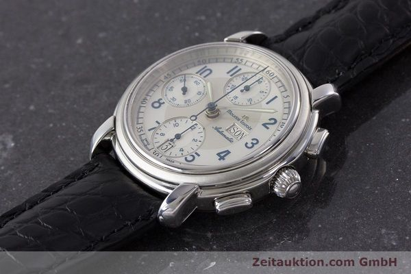 Used luxury watch Maurice Lacroix Croneo chronograph steel automatic Kal. ML67 ETA 7750 Ref. 67668  | 161381 01