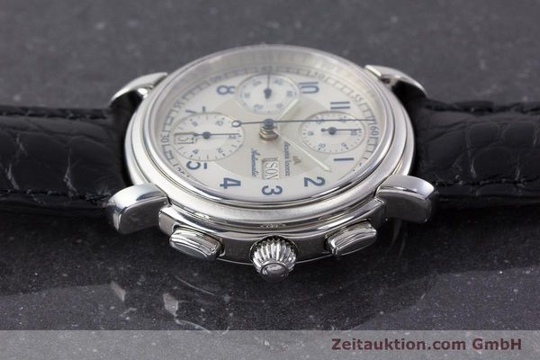 Used luxury watch Maurice Lacroix Croneo chronograph steel automatic Kal. ML67 ETA 7750 Ref. 67668  | 161381 05