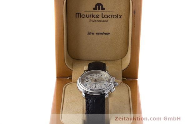 Used luxury watch Maurice Lacroix Croneo chronograph steel automatic Kal. ML67 ETA 7750 Ref. 67668  | 161381 07