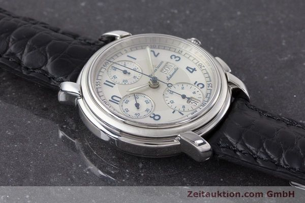 Used luxury watch Maurice Lacroix Croneo chronograph steel automatic Kal. ML67 ETA 7750 Ref. 67668  | 161381 13