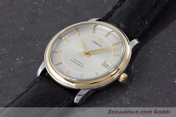 Used luxury watch Omega De Ville steel / gold automatic Kal. 1120  | 161383 01