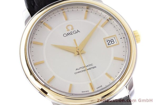Used luxury watch Omega De Ville steel / gold automatic Kal. 1120  | 161383 02