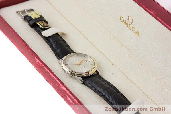 Used luxury watch Omega De Ville steel / gold automatic Kal. 1120  | 161383 07
