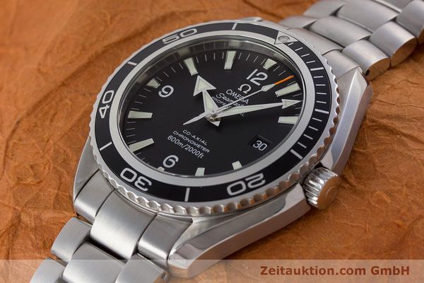 Used luxury watch Omega Seamaster steel automatic Kal. 2500C Ref. 22005000  | 161384 01