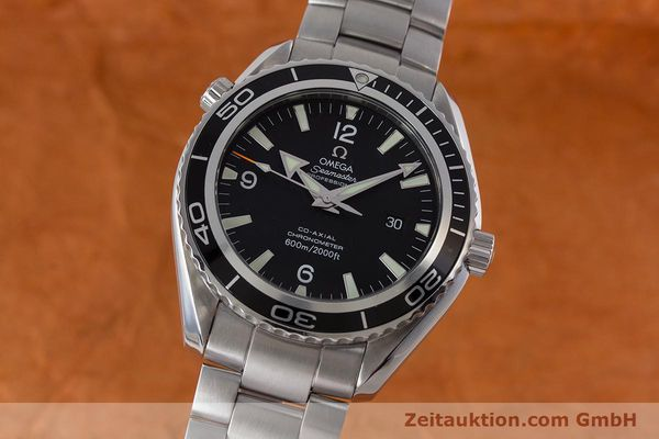 Used luxury watch Omega Seamaster steel automatic Kal. 2500C Ref. 22005000  | 161384 04