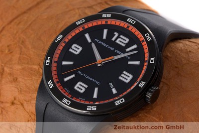 PORSCHE DESIGN BY ETERNA FLAT SIX 44 AUTOMATIK P6310 HERRENUHR LP: 2450,- EURO [161387]