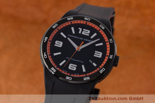 PORSCHE DESIGN FLAT SIX STEEL AUTOMATIC KAL. ETA 2892A2 LP: 2450EUR [161387]