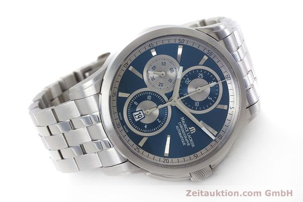 Used luxury watch Maurice Lacroix Pontos chronograph steel automatic Kal. ETA 7750 Ref. PT6178/88  | 161388 03