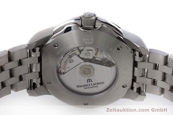 Used luxury watch Maurice Lacroix Pontos chronograph steel automatic Kal. ETA 7750 Ref. PT6178/88  | 161388 09