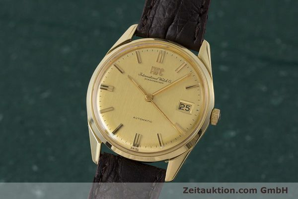 Used luxury watch IWC Portofino 18 ct gold automatic Kal. 8541B Ref. 1810 VINTAGE  | 161389 04