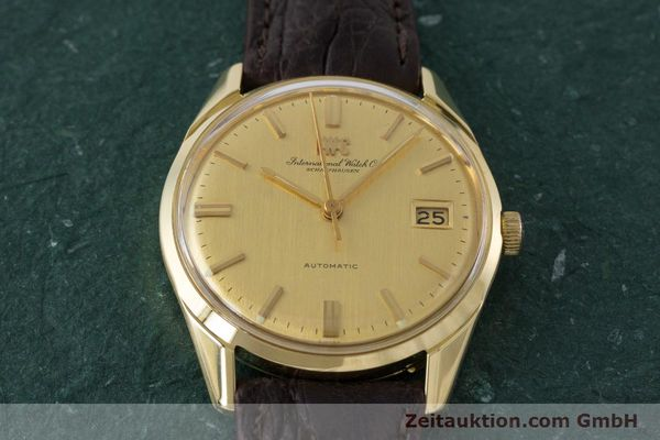 Used luxury watch IWC Portofino 18 ct gold automatic Kal. 8541B Ref. 1810 VINTAGE  | 161389 14