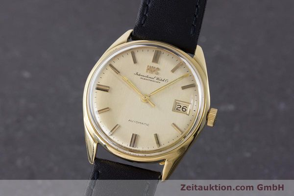 Used luxury watch IWC Portofino 18 ct gold automatic Kal. 8541 Ref. R810A  | 161390 04