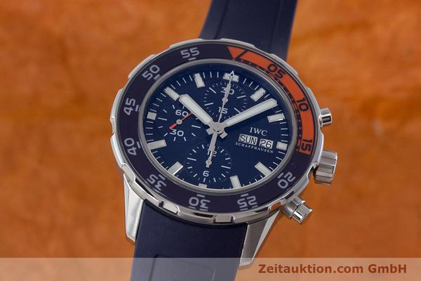 IWC AQUATIMER CHRONOGRAPH STEEL AUTOMATIC KAL. 79320 LP: 6350EUR [161392]