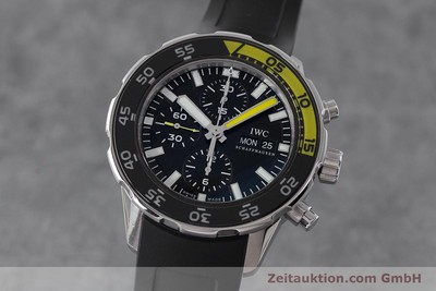 IWC AQUATIMER CHRONOGRAPH STEEL AUTOMATIC KAL. 790 LP: 6350EUR [161393]