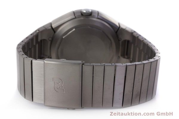 Used luxury watch IWC Porsche Design chronograph titanium automatic Kal. ETA 7750 Ref. 3702  | 161395 12