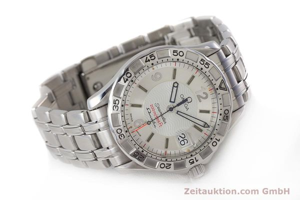 Used luxury watch Omega Seamaster steel quartz Kal. 1400 Ref. 1961526  | 161401 03