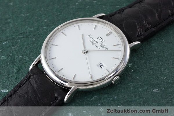 Used luxury watch IWC Portofino steel quartz Kal. 2210  Eta 255411 Ref. 3331  | 161402 01